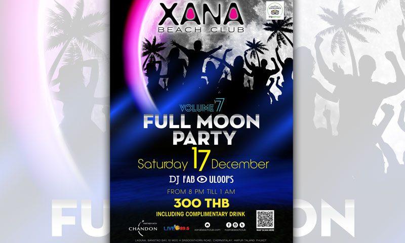 XANA Beach Club – Full Moon Party Vol.7