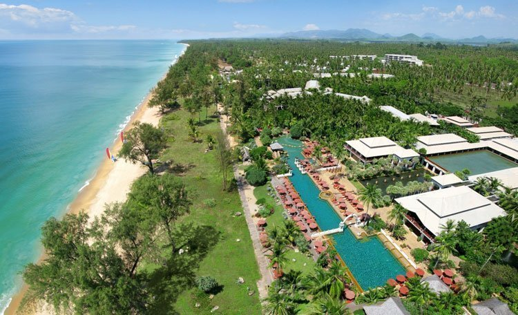JW Marriott Phuket Resort & Spa voted Top 40 Best Resorts in Asia by Condé Nast Traveler US Readers' Choice Award 2016