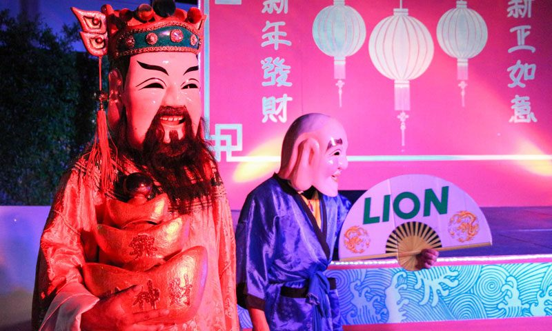 Gong Xi Fa Cai! welcome the year of the rooster at Amari Phuket