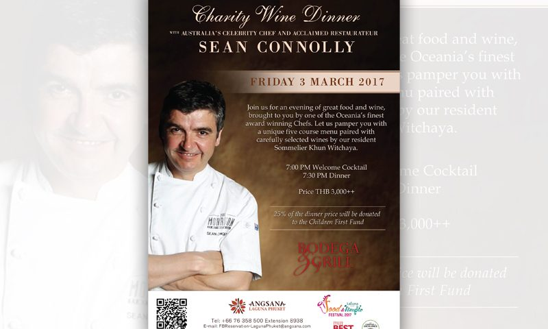 Wine Dinner with Chef Sean Connolly at Bodega & Grill Restaurant