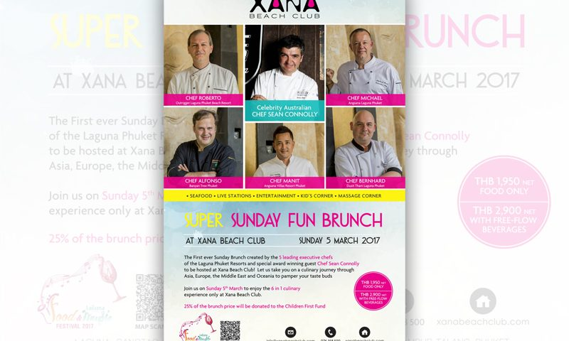 Super Sunday Fun Brunch at XANA Beach Club