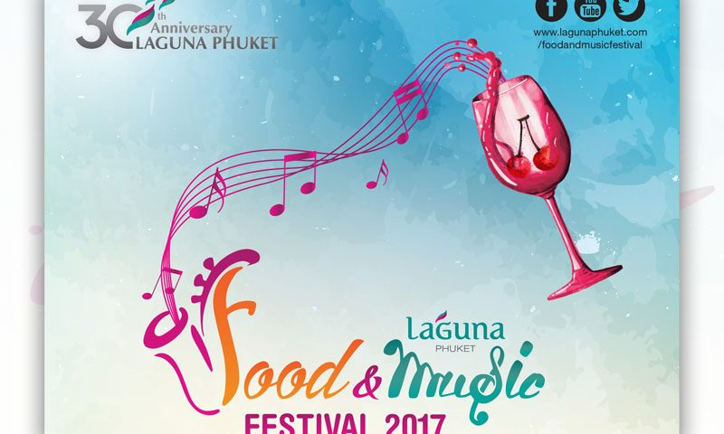 Event Schedule Laguna Phuket Food & Music Festival 2017