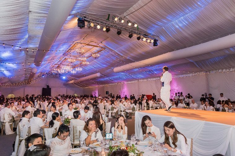 The sold-out Charity Gala Dinner at Latitude Marquee raised more than THB 1.5 million from silent and live auctions