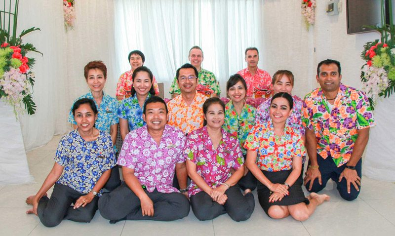 Amari Phuket Team Celebrates The Thai New Year at Songkran Festival