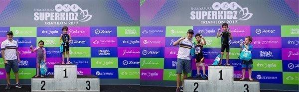 Young Triathletes Compete at the 5th Thanyapura Superkidz Triathlon