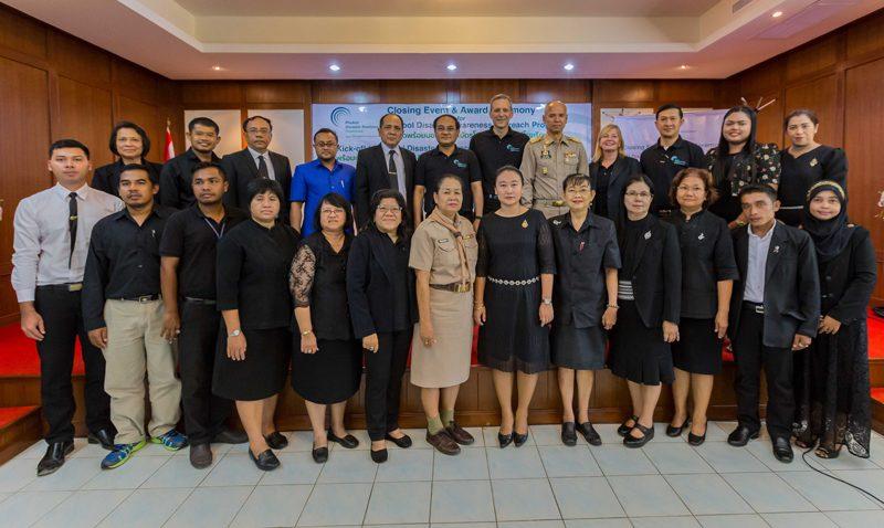 "Closing event and award ceremony of ""School disaster awareness outreach program"""