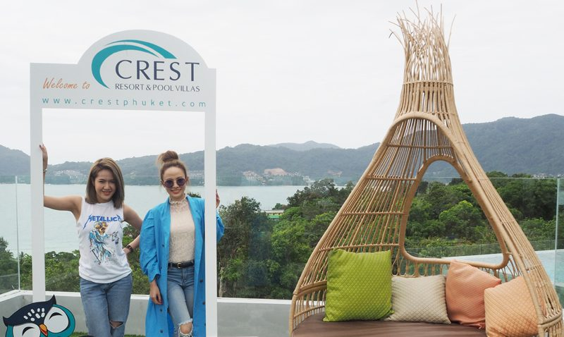 Crest Resort & Pool Villas has continued to welcome the famous celebrities!