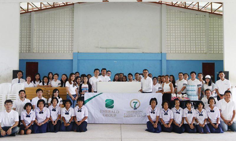 An activitiesof annual CSR – The Emerald Development Group Co.Ltd