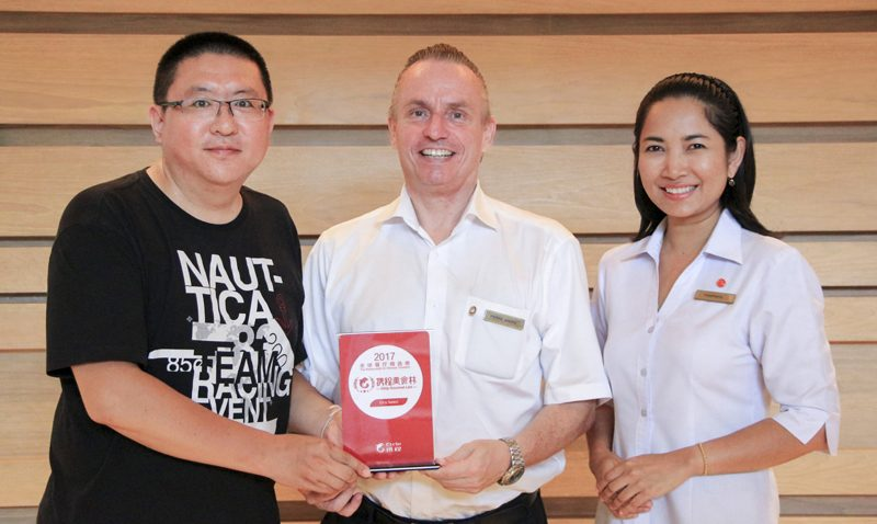 Chinese votes La Gritta as the top restaurant on CTRIP Award 2017