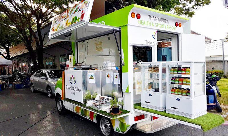 Thanyapura Health & Sports Debuts Phuket's First Healthy Food Truck