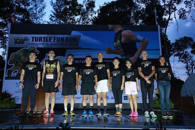 Three Thousand and Two Hundred Runners Turn Out for The 13th Mai Khao Marine Turtle Fun Run & Mini Marathon 2017 in Phuket -Run across the Sea on Iconic Phuket, Sarasin Bridge-