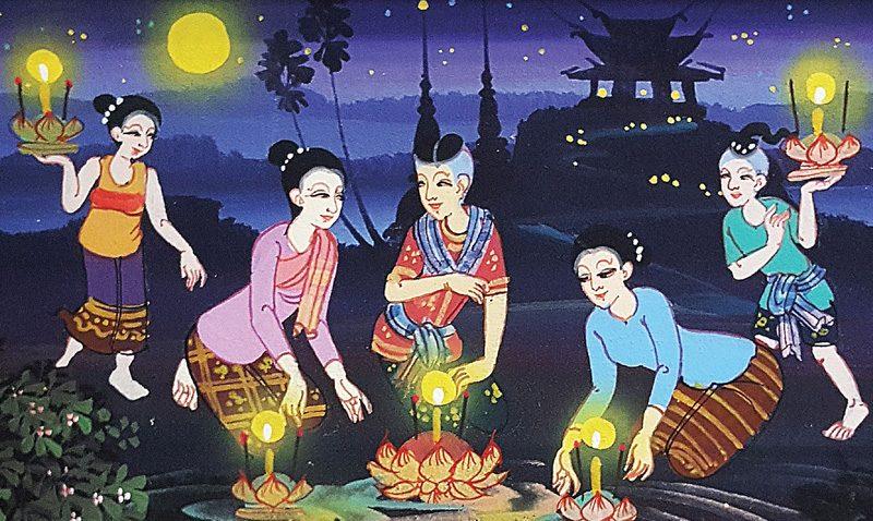 "Touch the Full Moon Festival ""Loy Kratong 2017"" at Grand Mercure Phuket"