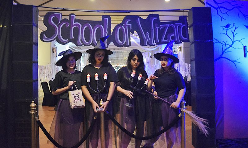 One spooky night at the school of wizardry @ JW Marriott Phuket Resort & Spa
