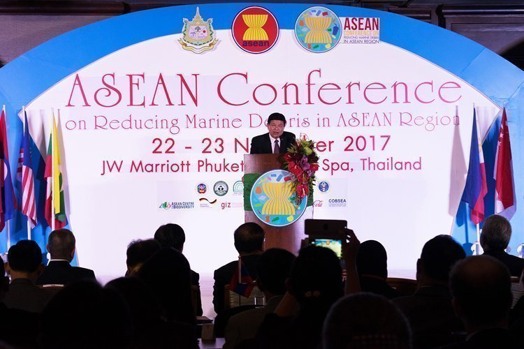 Asean conference on reducing marine debris in Asean region takes place @JW Marriott Phuket Resort & Spa