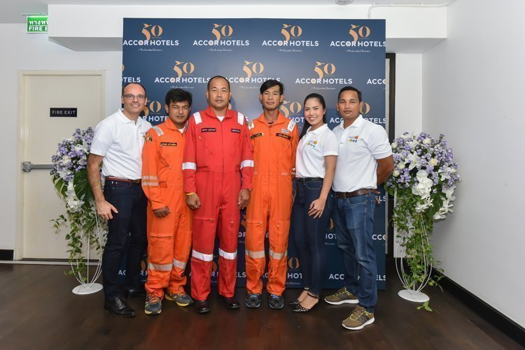 Novotel Phuket Phokeethra celebrated 50th Anniversary AccorHotels at Estrela Sky Lounge
