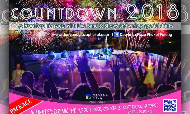 Deevana Plaza Phuket Countdown 2018