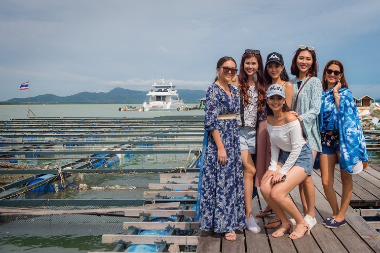 Five delegates of Miss World 2017 reunite for a Phuket holiday