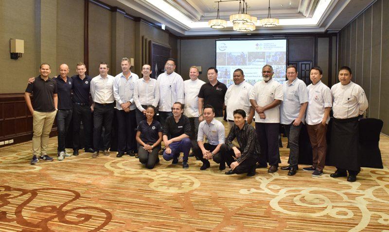 JW Marriott Phuket hosts the first Marriott International's Cluster Sustainable Seafood Meeting