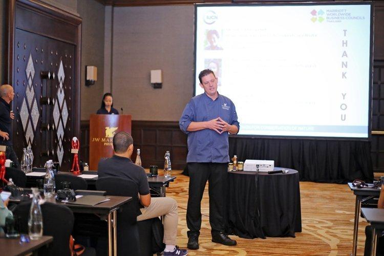 JW Marriott Phuket Resorts & Spa hosts the first Marriott International's Cluster Sustainable Seafood Meeting