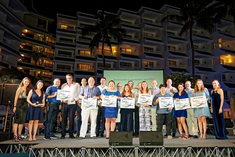 """Marriott heads """"Into the Blue"""" in Phuket for Global Customer Appreciation Week"""
