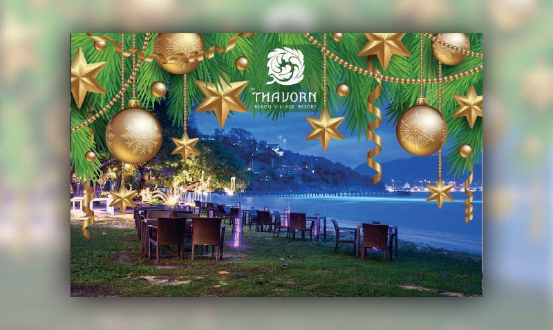 Join us on our Christmas dinner 2017! – Thavorn Beach Village Resort