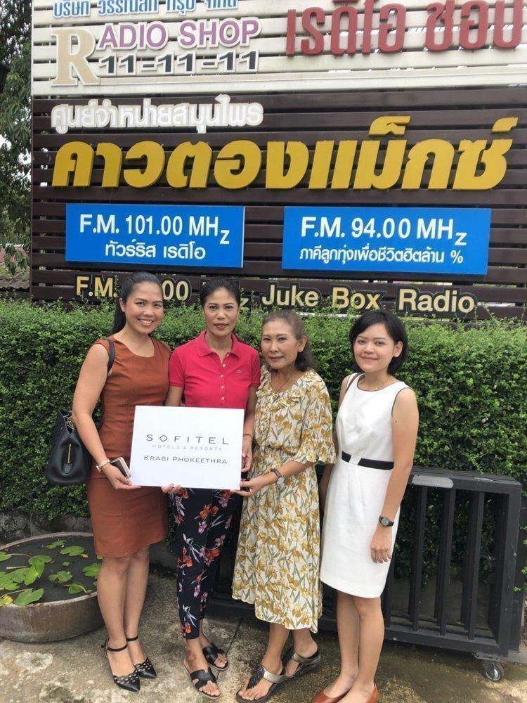 Sofitel Krabi Phokeethra Golf & Spa Resort gives appreciation to local supporters