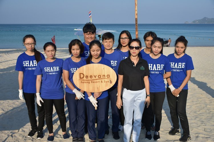 Deevana Patong Resort and Spa be caring for the society and environment @Patong Beach 9 February 2018