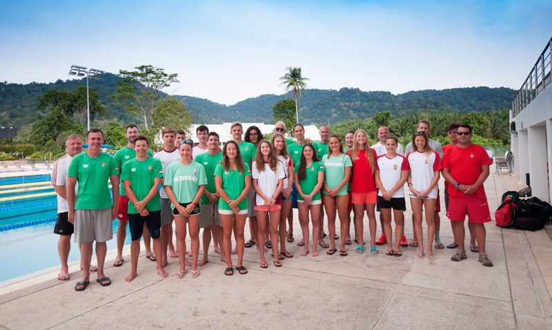 Thanyapura Health & Sports Resort was delighted to welcome the Hungarian National Swim Team