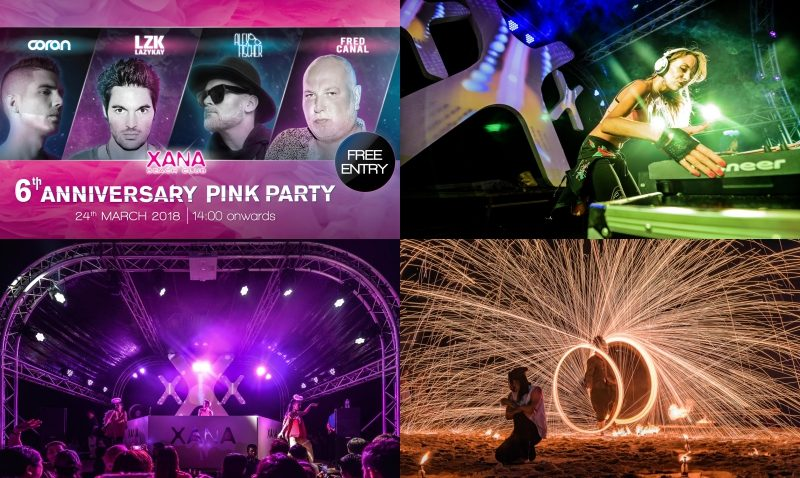 Epic 'Pink Party' Set for XANA Beach Club's 6th Anniversary Celebration on March 24