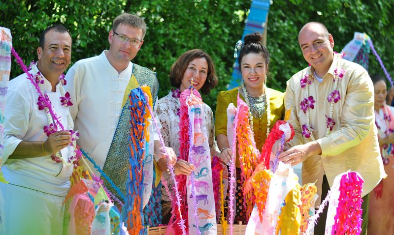 "Angsana Laguna Phuket and XANA Beach Club celebrated Thai New Year ""Songkran Festival"""