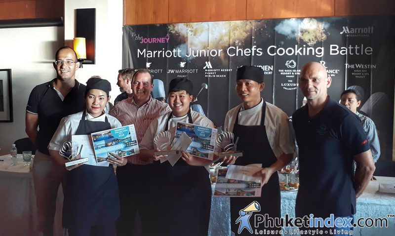 Congratulations to Renaissance Phuket Resort & Spa Junior Chef