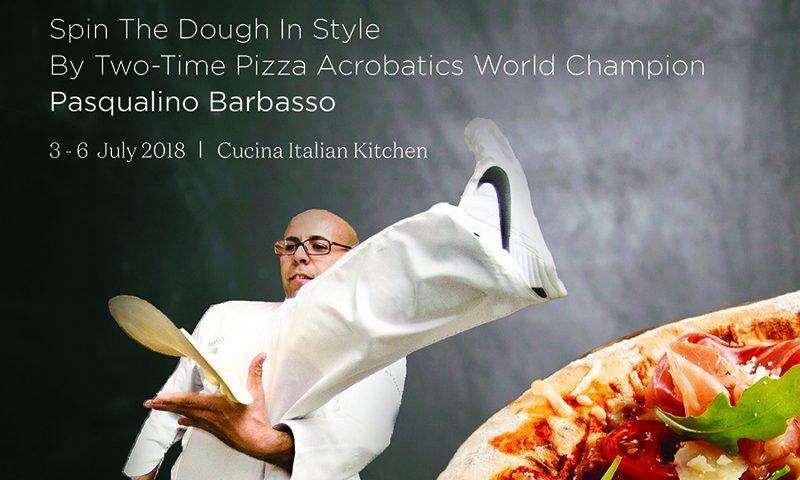 JW Marriott Phuket Resort & Spa's Cucina Italian Kitchen Spins the Dough in Style