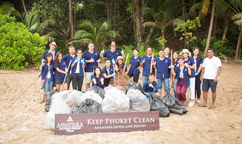 "Anantara Mai Khao ""Keep Phuket Clean"" Campaign"