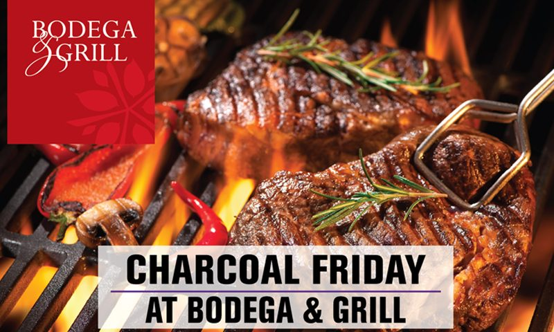 Charcoal Friday at Bodega&Grill : Premium Cuts on the Grill