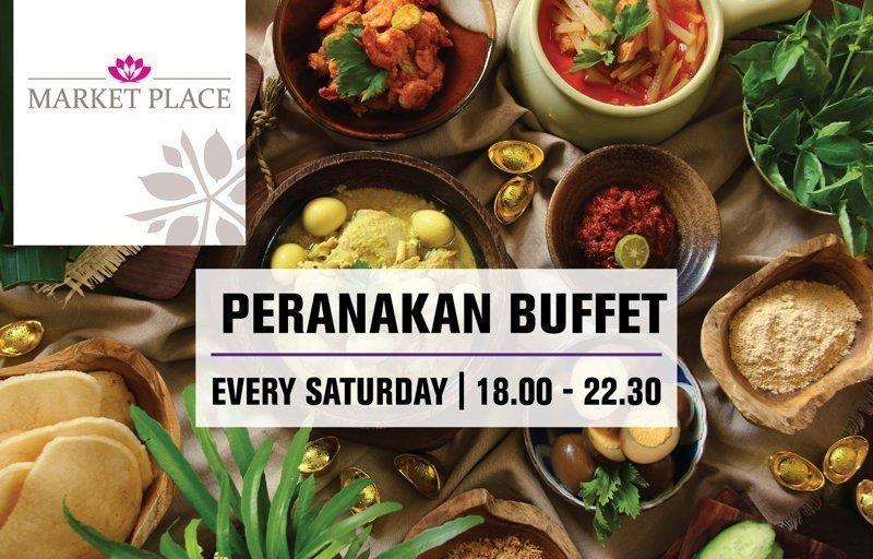Peranakan Buffet - Experiences the taste of Peranakan world