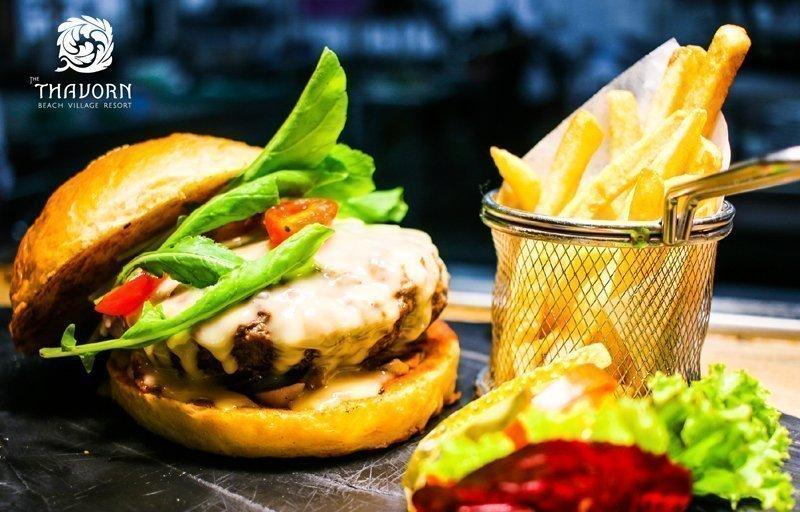Best Burger at Thavorn Beach Village Resort