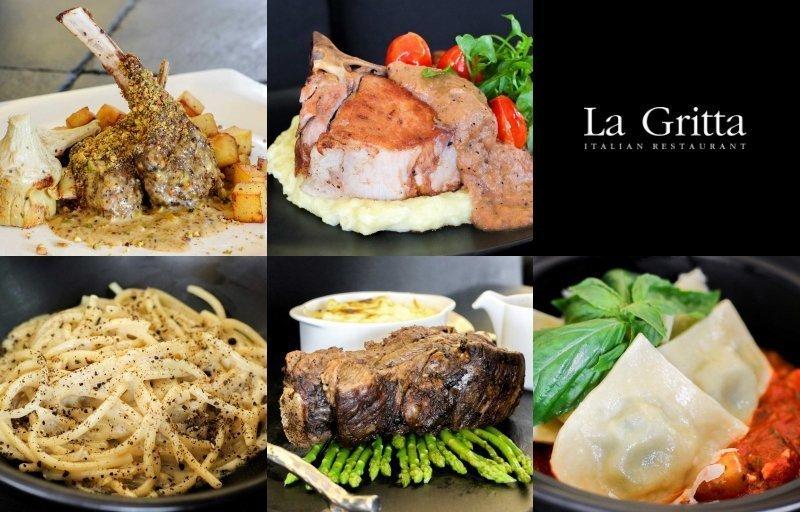 Savour the taste of Chef Patrizia's mom's recipes at La Gritta