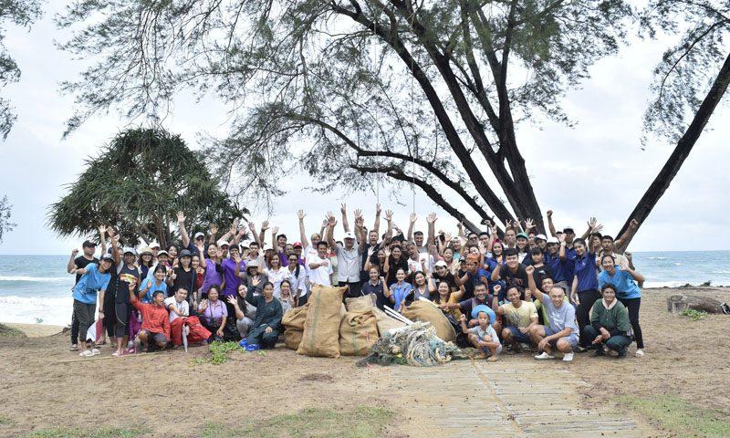 JW Marriott Phuket Resort & Spa supported The International Coastal Clean Up 2018