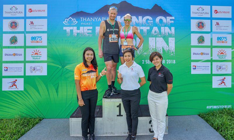"""Phuket Marriott Resort & Spa, Nai Yang Beach Sponsors Race Winners at Thanyapura's """"King of the Mountain"""" Event"""