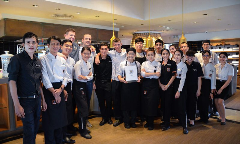 JW Marriott Phuket Resort & Spa's Cucina Italian Restaurant earns 2018 Tripadvisor certificate of excellence