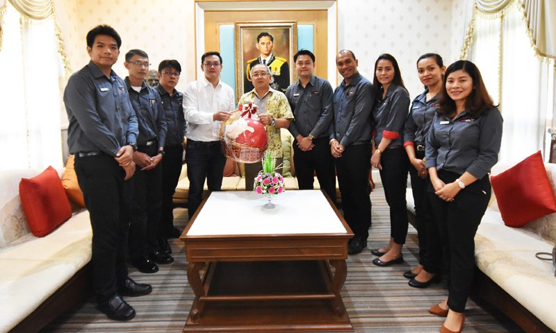 SLEEP WITH ME HOTEL design hotel at Patong welcomed newly-appointed Phuket Governor