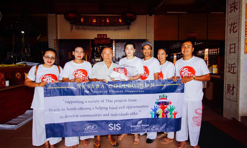 AKSARA Collection supports The Phuket Vegetarian Festival 9-17 Oct. 2018