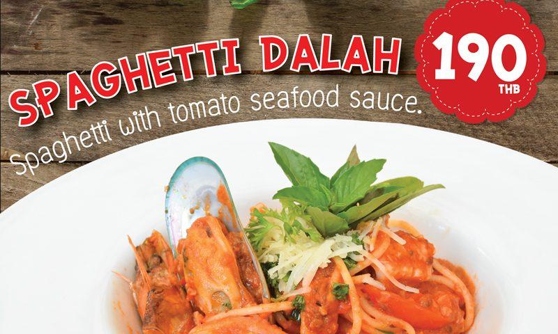 Promotion: Taste of Spaghetti Dalah, Deevana Patong Resort & Spa