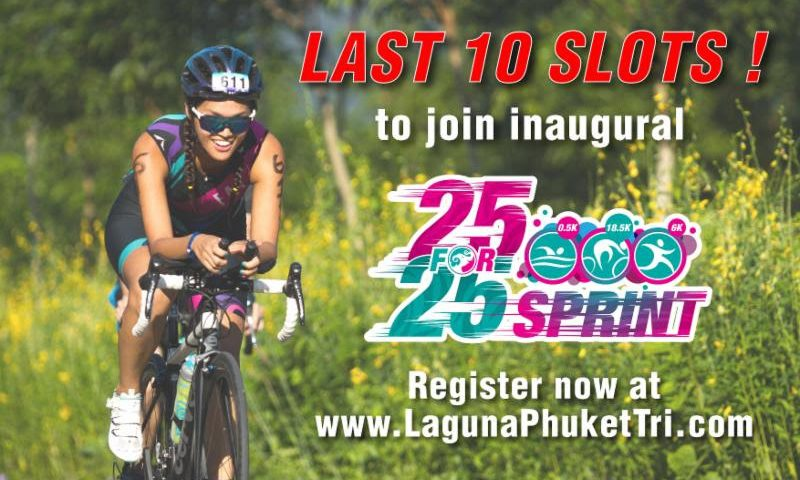 """Last 10 slots to inaugural """"25 For 25 Sprint"""""""