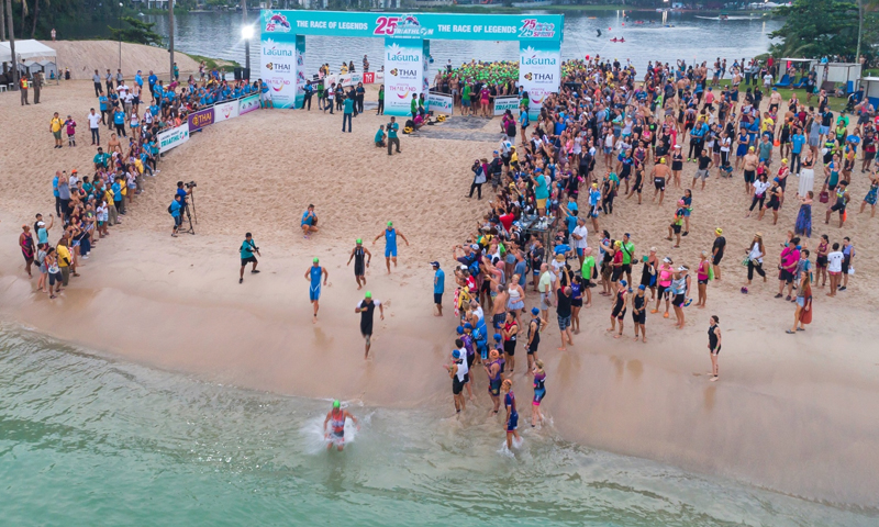 26th Laguna Phuket Triathlon's Date Announced