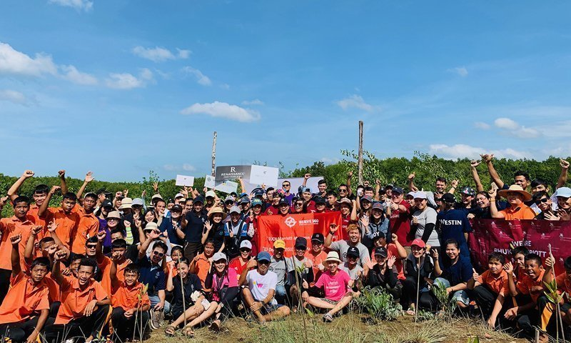 JW Marriott Phuket Resort & Spa in collaboration with IUCN  The Quarterly Mangrove Restoration Activity 2018