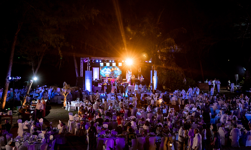 JW Marriott Phuket Resort & Spa Rings in 2019 New Year under the Stars with a White Party Themed