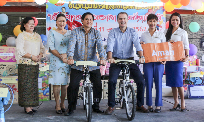Amari Phuket supports Child Development on Children's Day