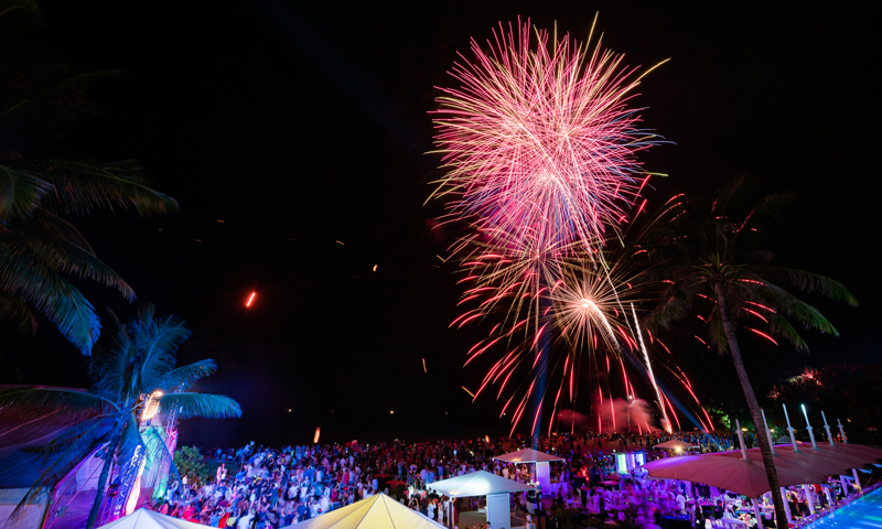Welcome 2019 in style at  XANA Beach Club