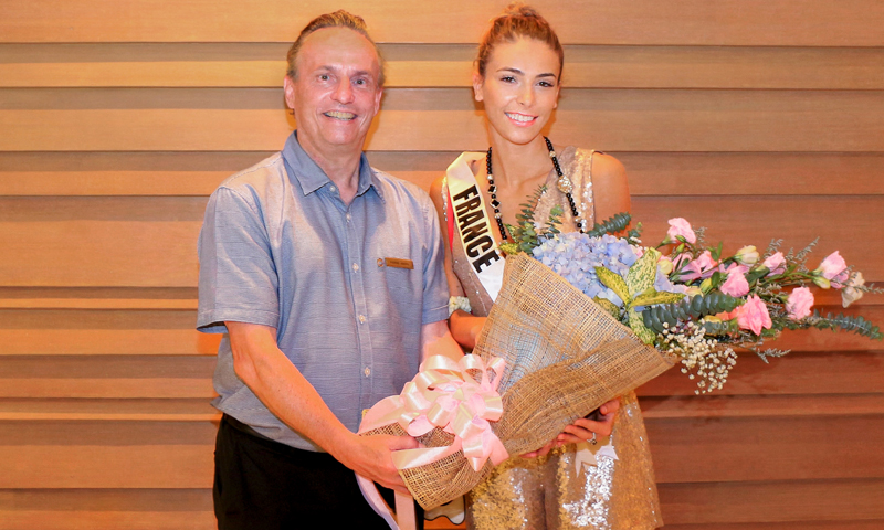 Amari Phuket welcomes Miss Universe France 2018